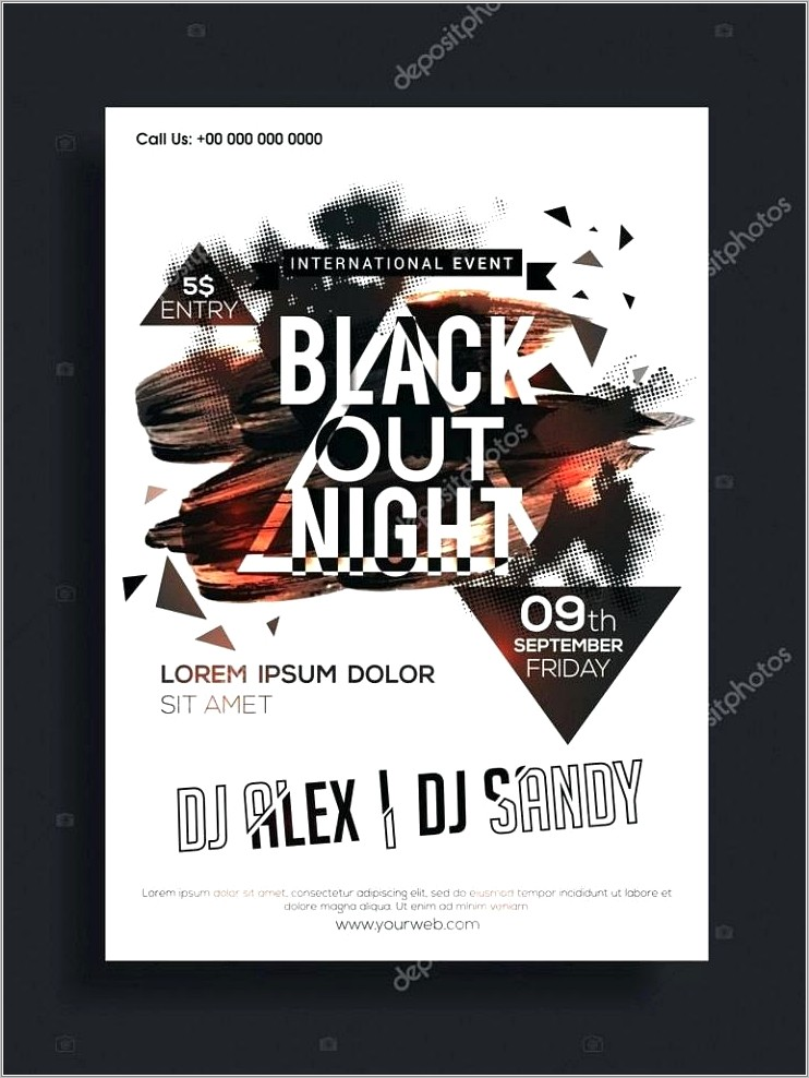 Online Band Flyer Templates