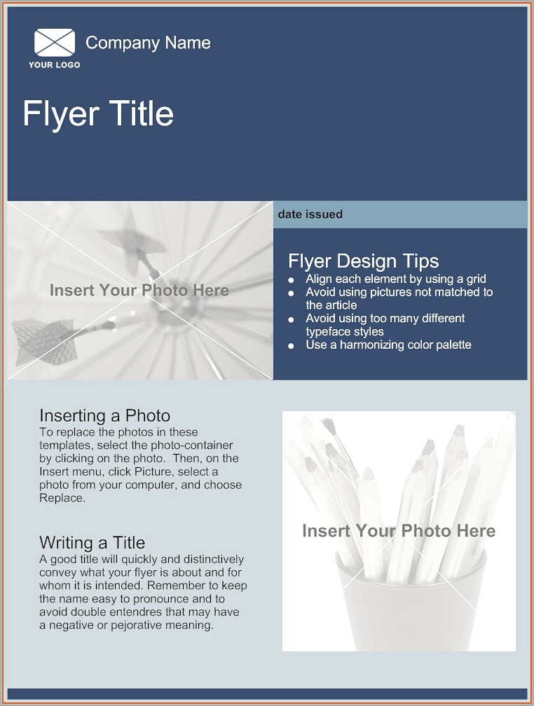Online Flyer Templates Free