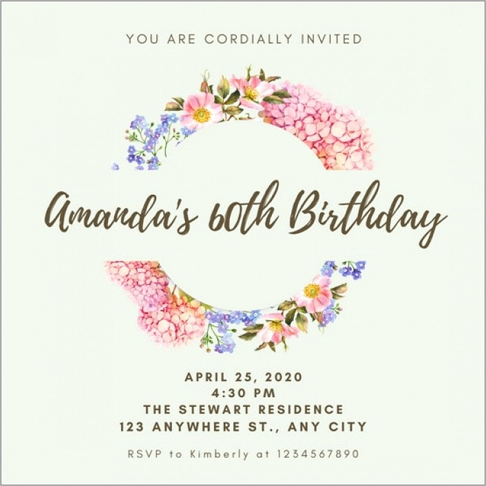 Online Templates For Invites