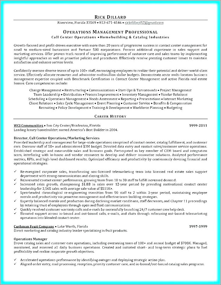 Operations Manual Template Service Business