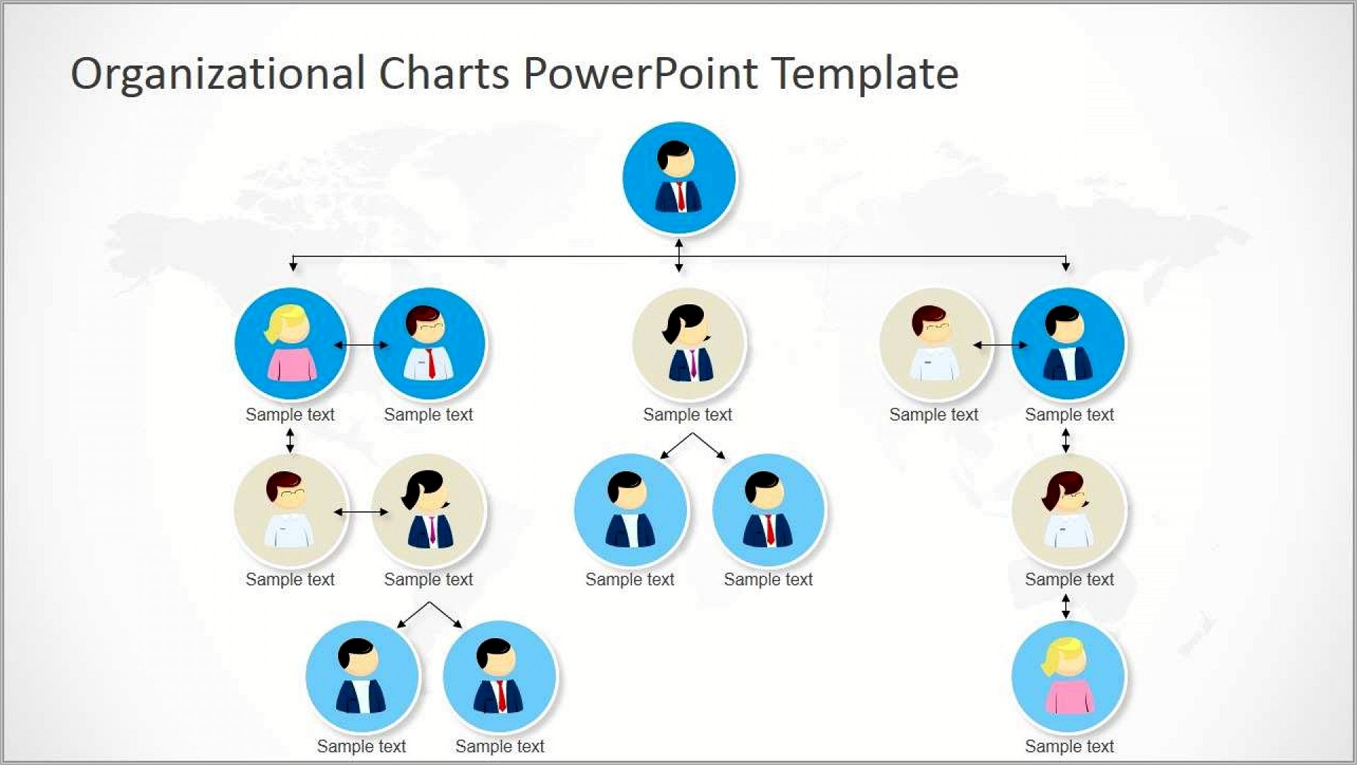 Org Chart Template Ppt Free