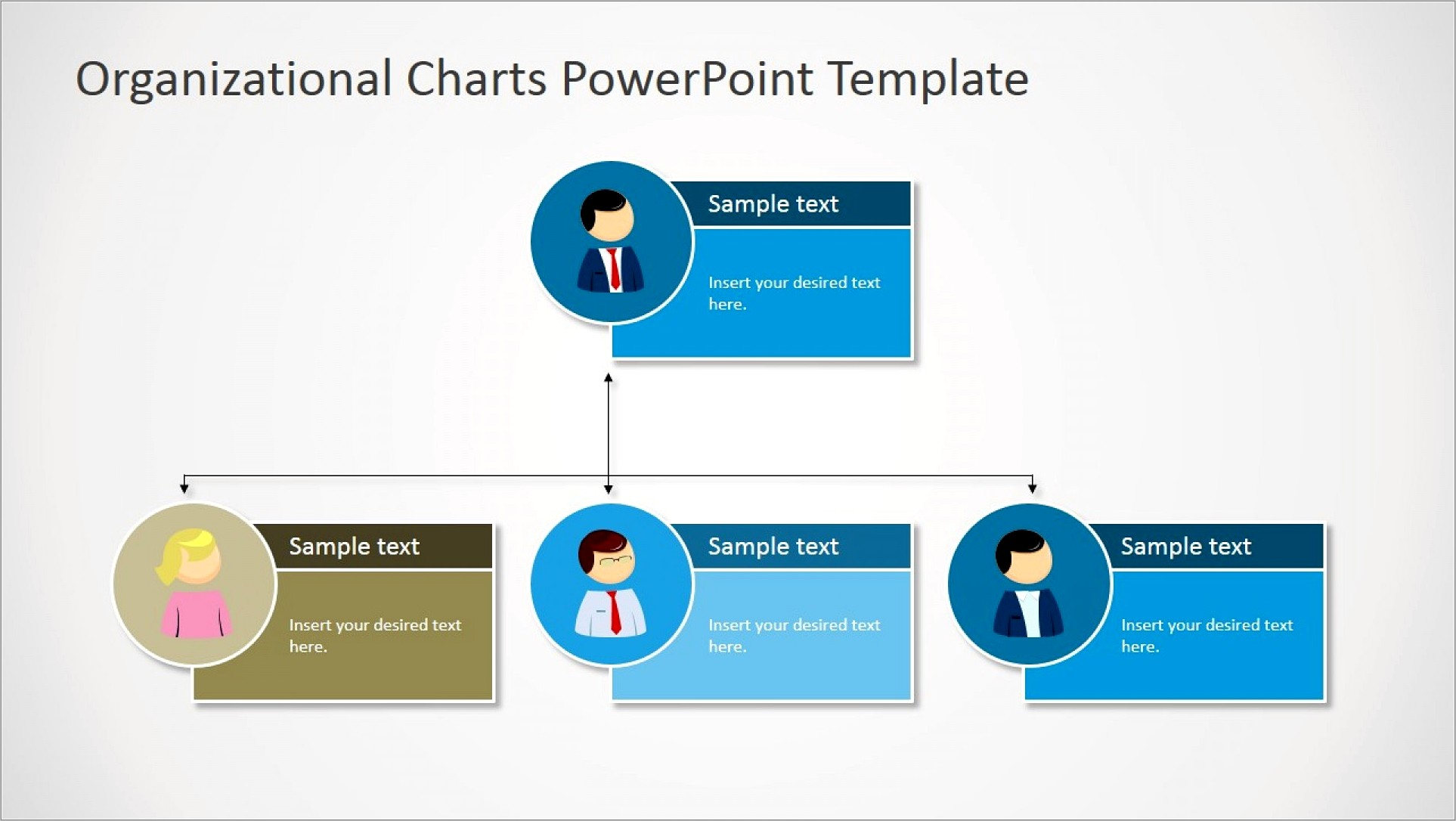 Organisational Structure Template Ppt