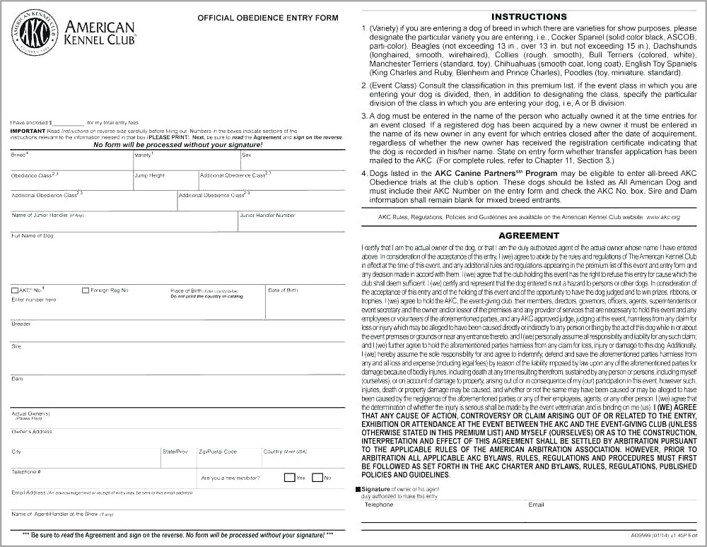 Pet Sales Contract Template