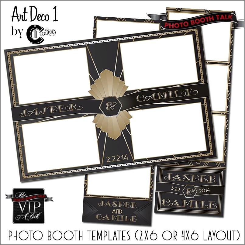 Photo Booth Strip Templates
