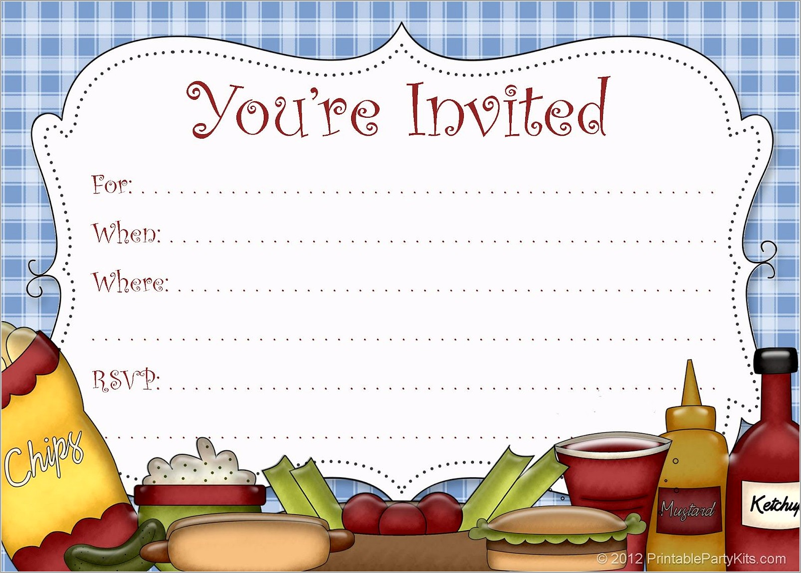 Picnic Flyer Template Word Free