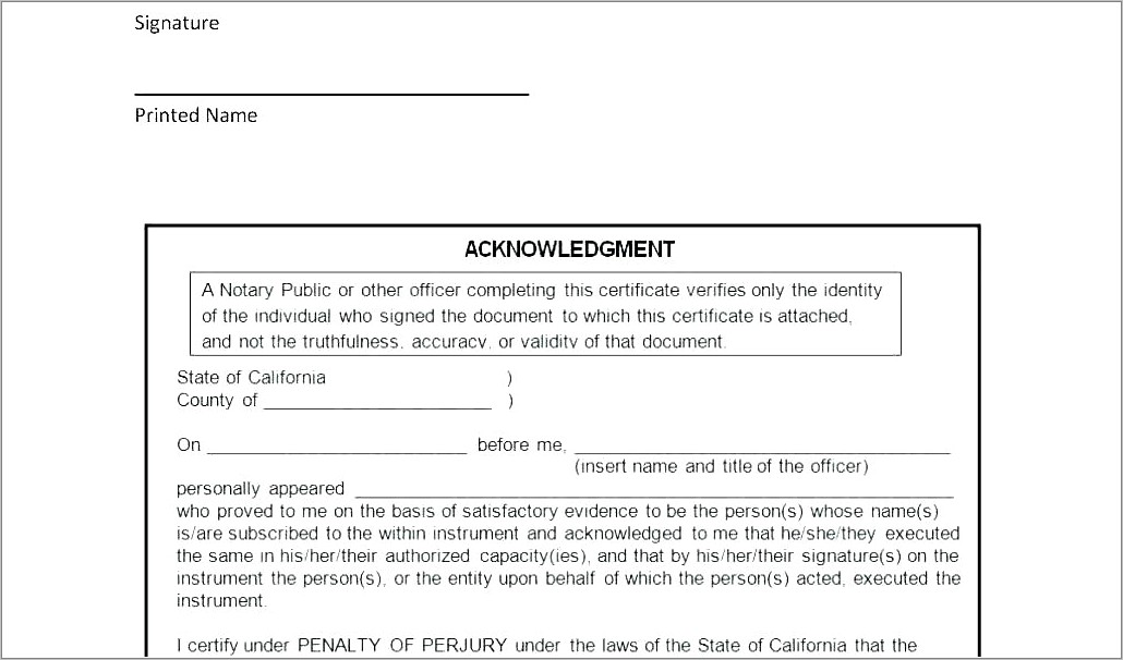 Power Of Attorney Form For Child Template