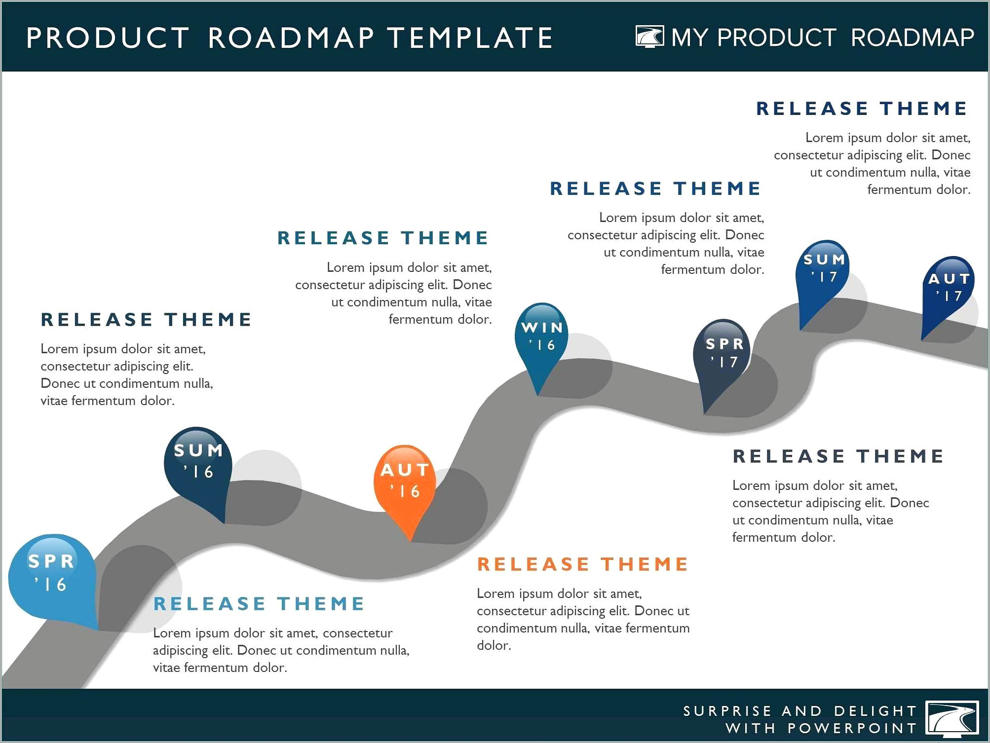 Ppt Roadmap Template Free
