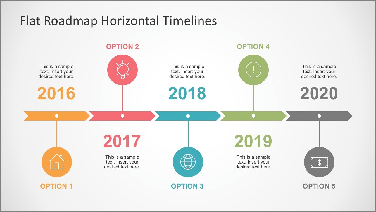 Ppt Template For Timeline