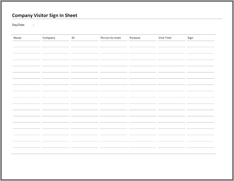 Printable Checking Account Register Template
