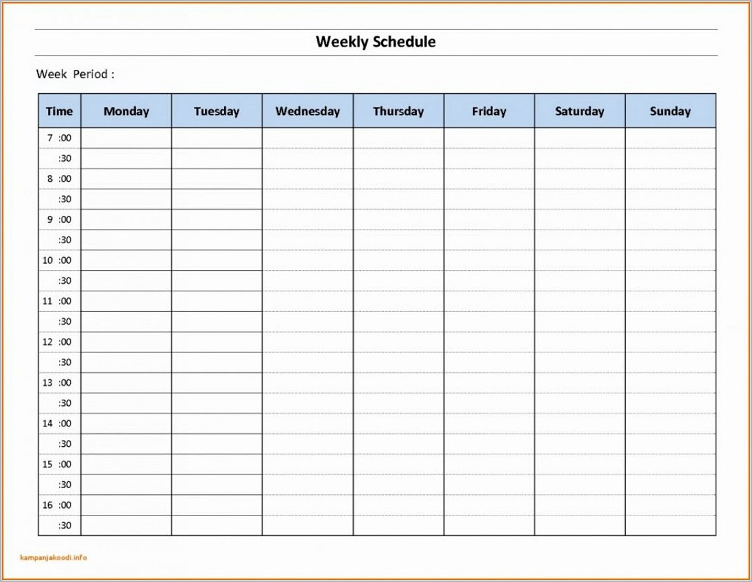 Production Scheduling Template Xls