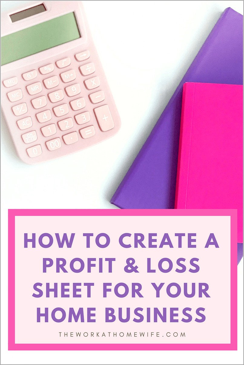 Profit And Loss Statements For Self Employed