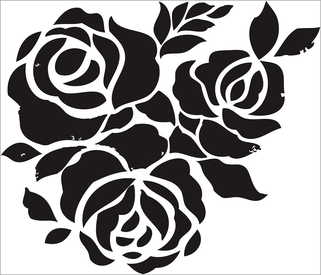 Stencil Template For Painting