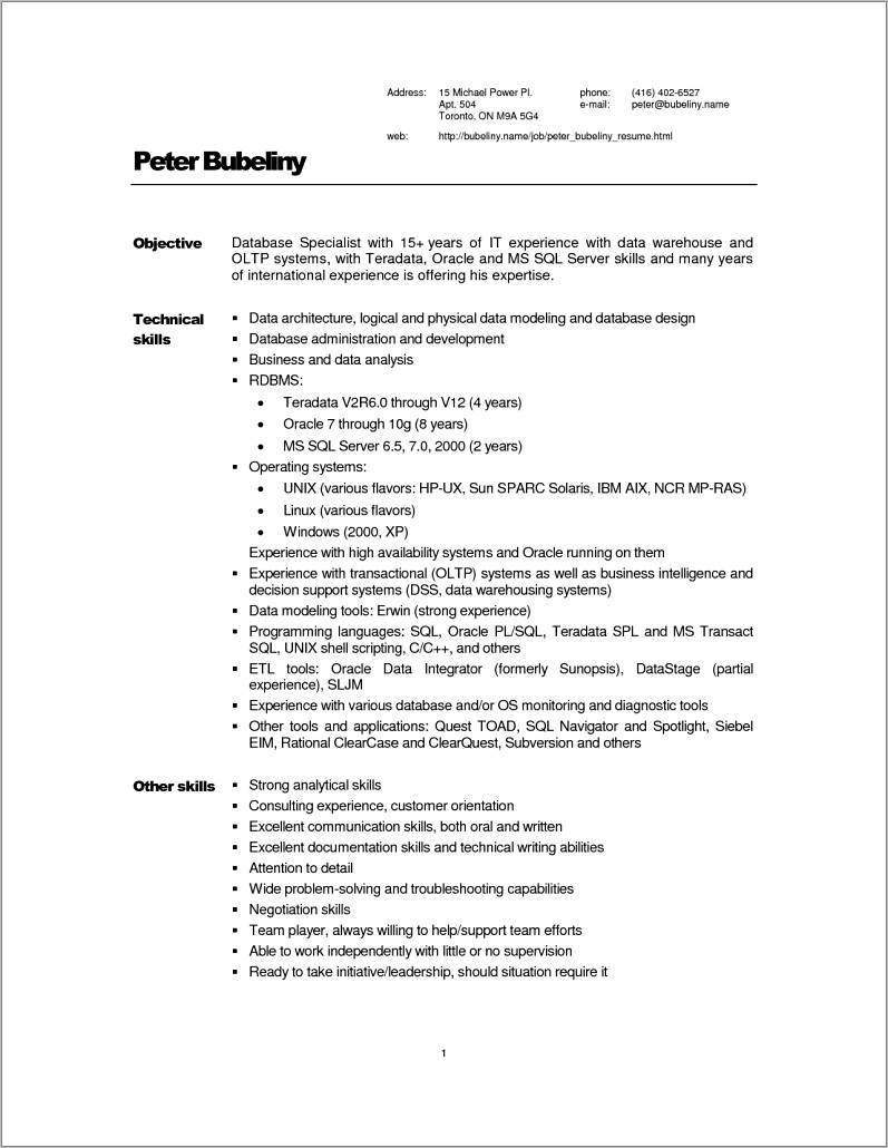 Warehouse General Labor Resume Examples