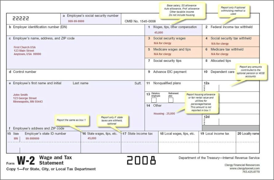 Where To Get Employer W2 Forms