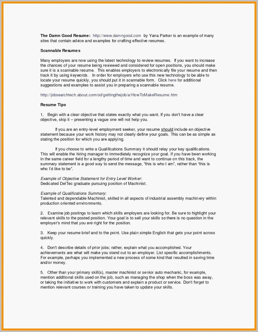 Word 2010 Resume Template Professional