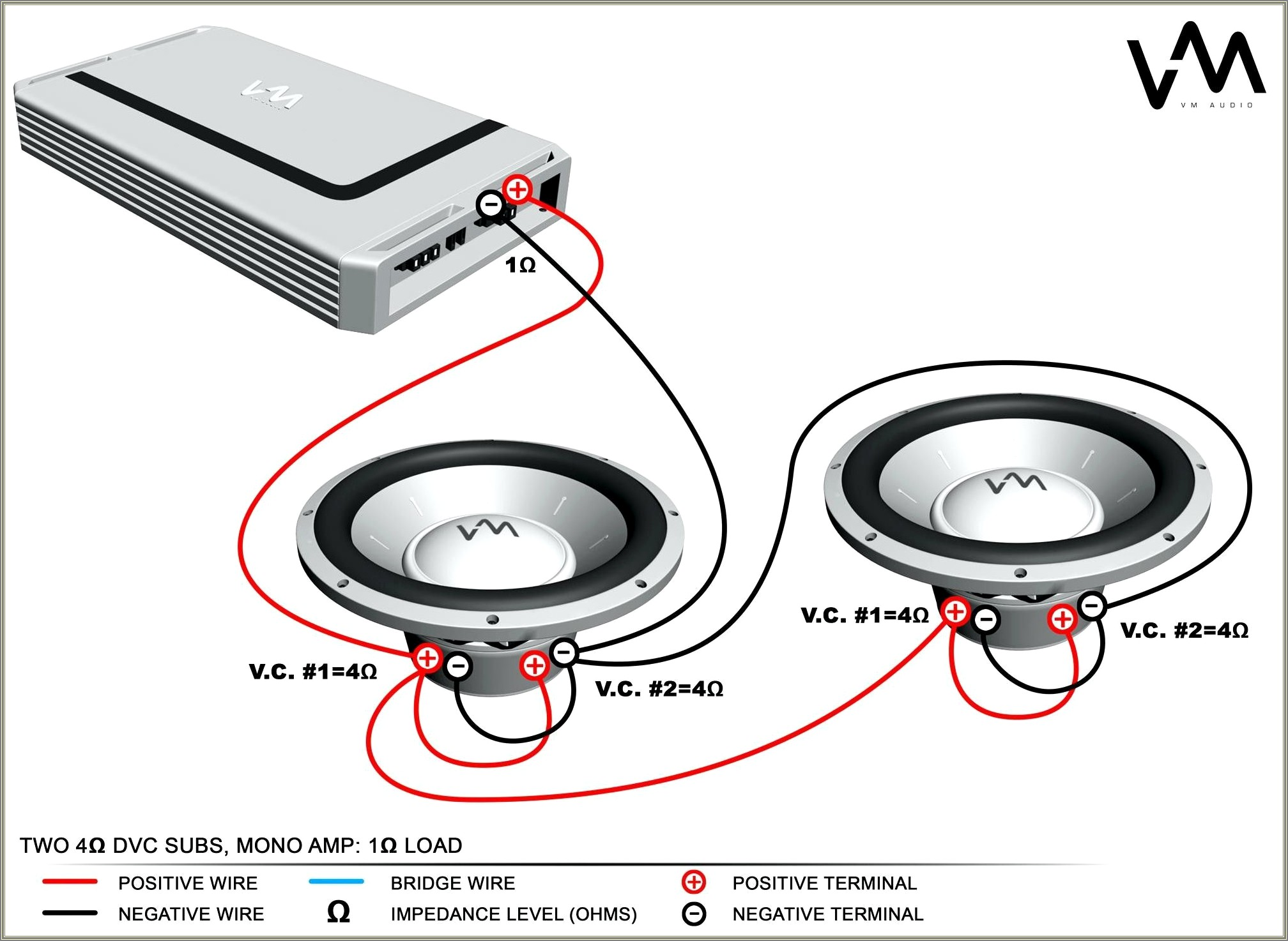 1 Ohm Sub Wiring Diagram