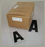 10 Inch Portable Sign Letters