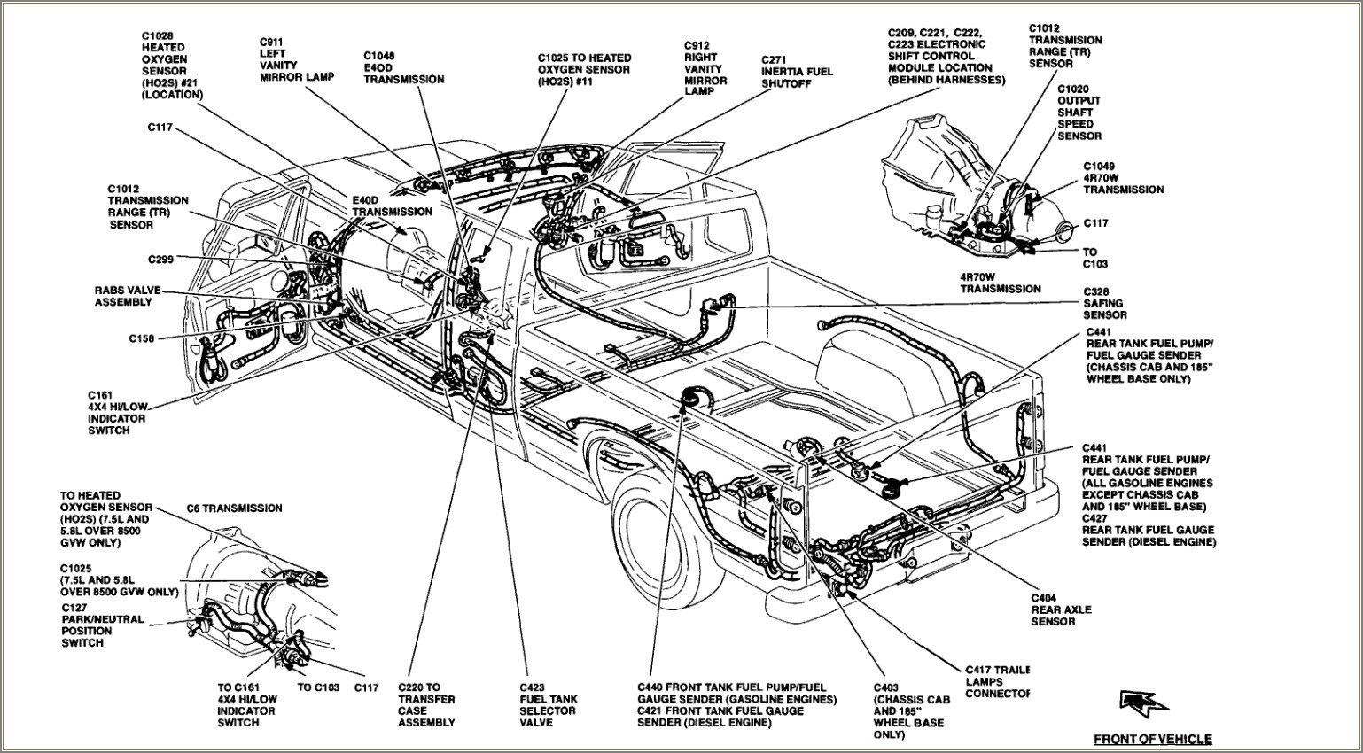 1993 Ford F150 Fuel Line Diagram