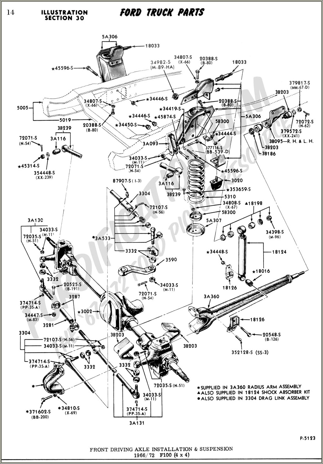 1995 Ford F150 Front Suspension Diagram