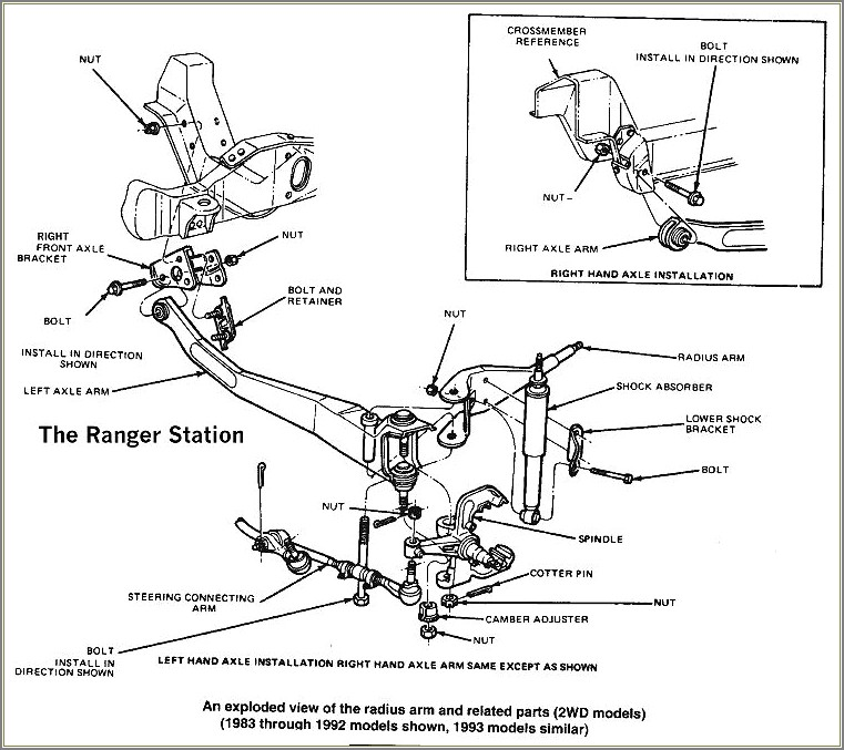 1996 Ford F150 Front Suspension Diagram