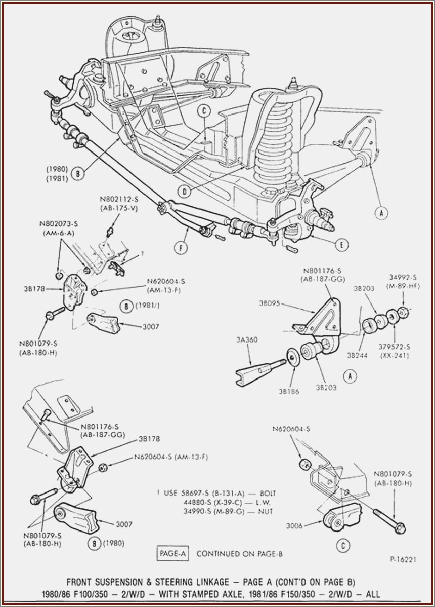 1998 Ford F150 Front Suspension Diagram