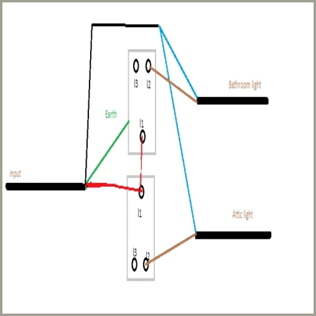 2 Gang Two Way Switch Wiring Diagram