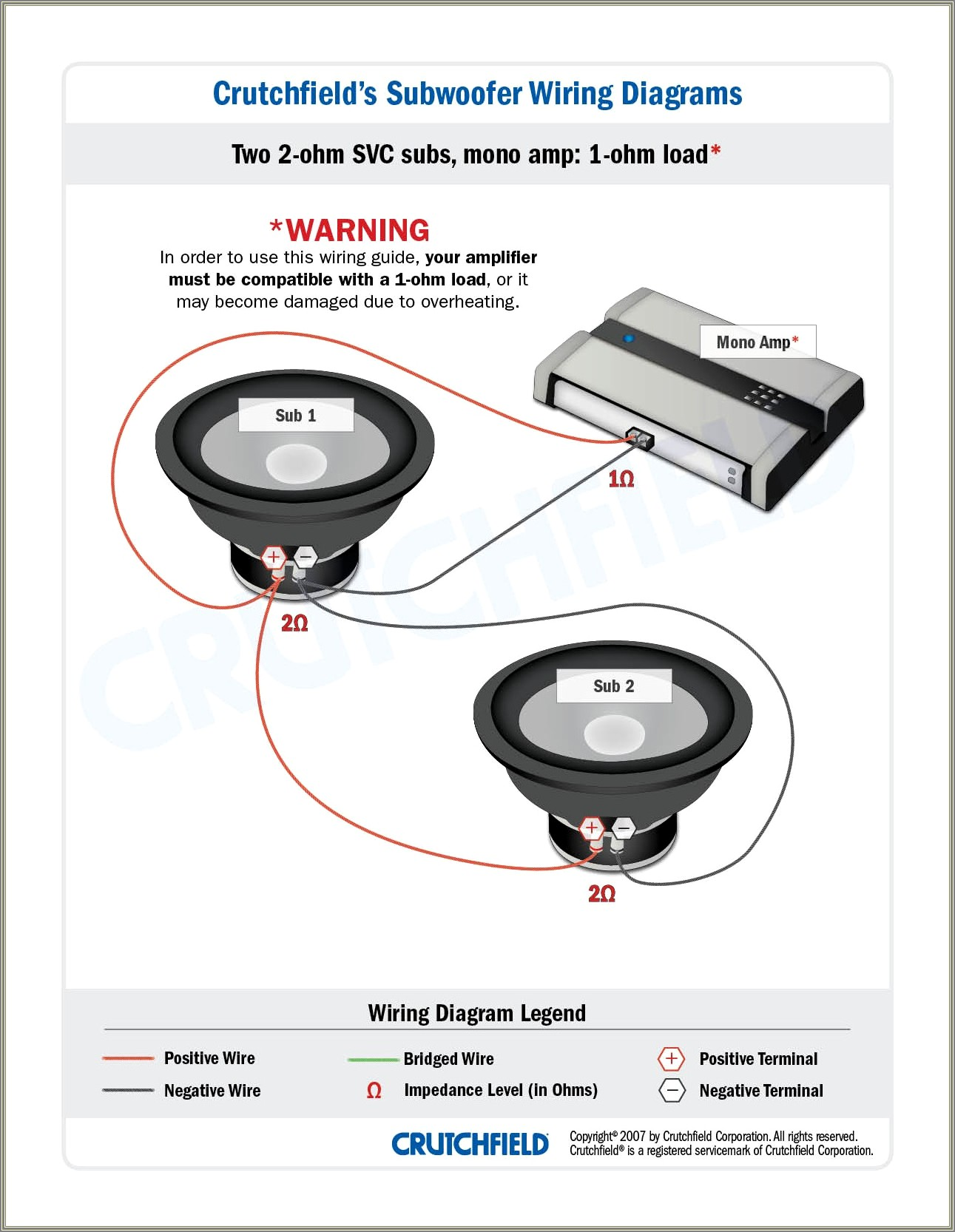 2 Ohm Sub Wiring Diagram