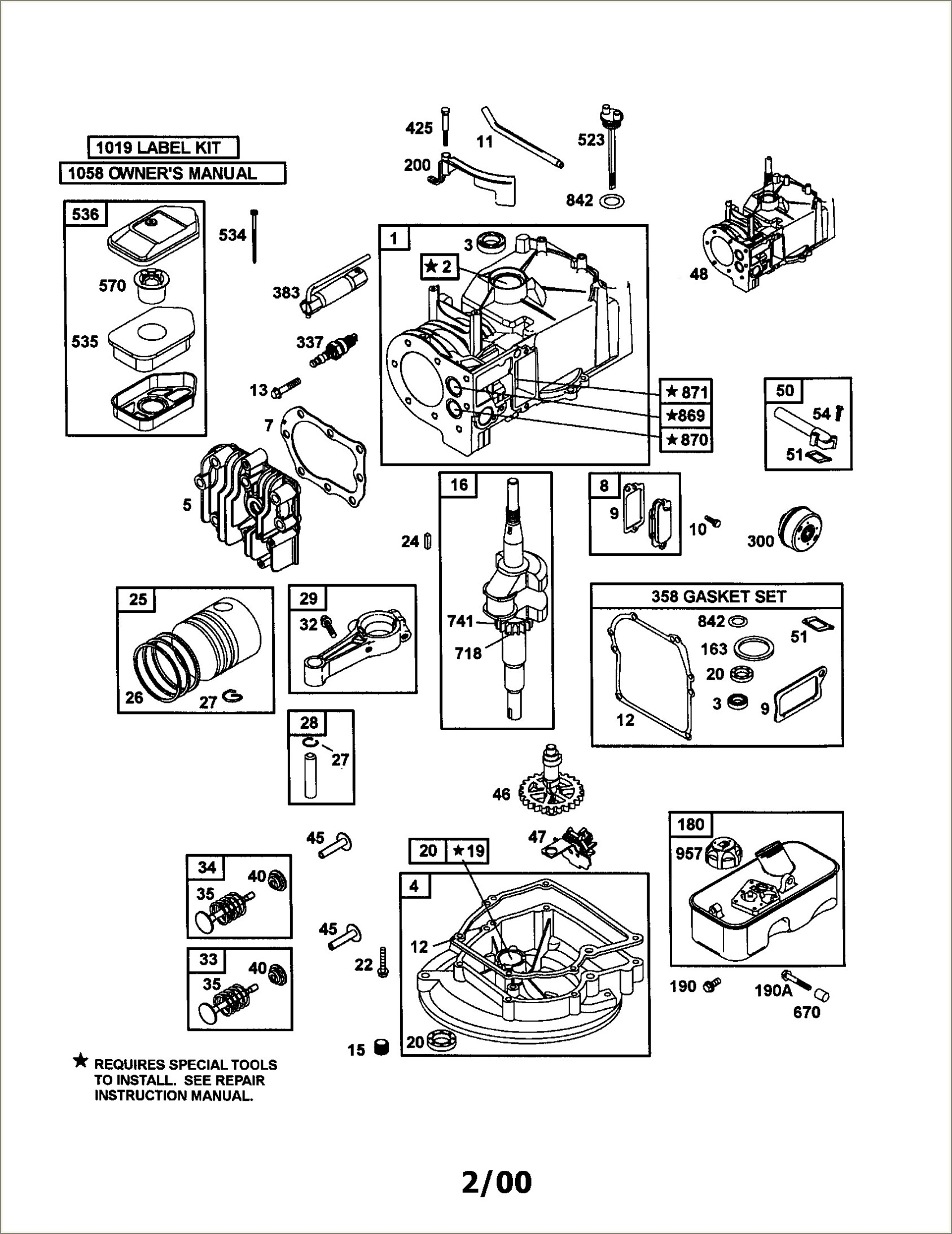 20 Hp Briggs And Stratton Engine Diagram
