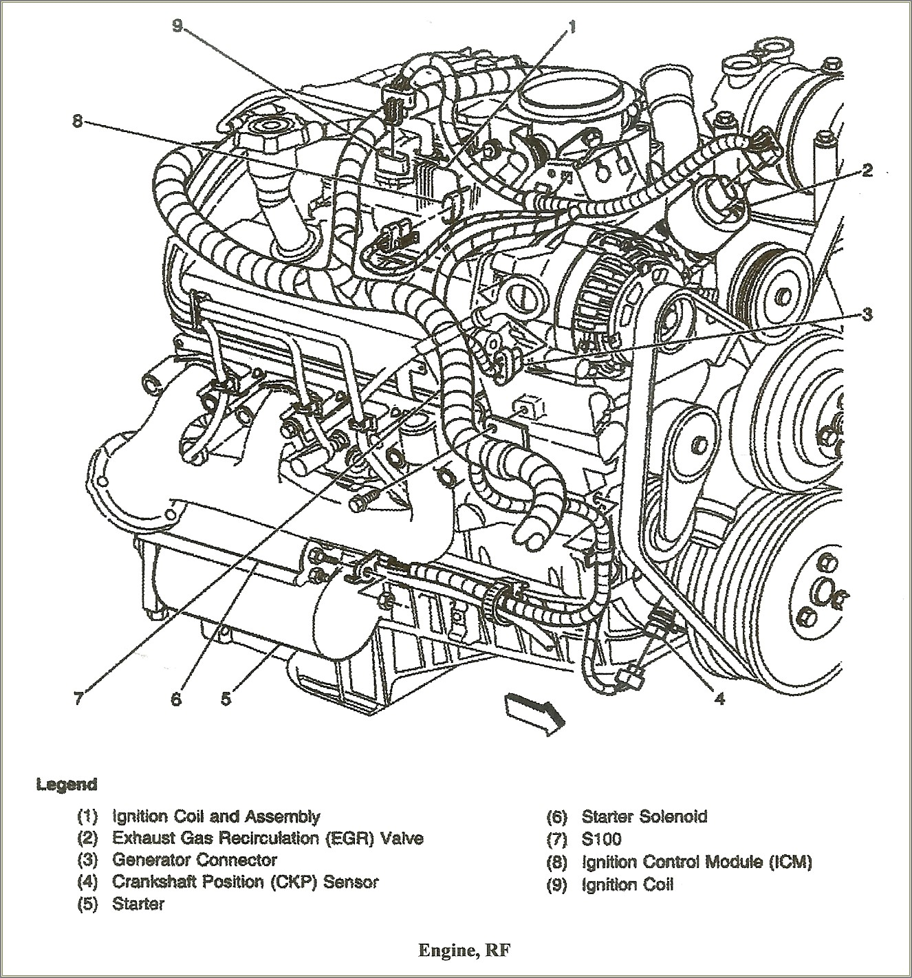 2000 Chevy Blazer Spark Plug Wire Diagram