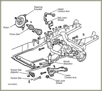2001 Ford F150 Front Suspension Diagram