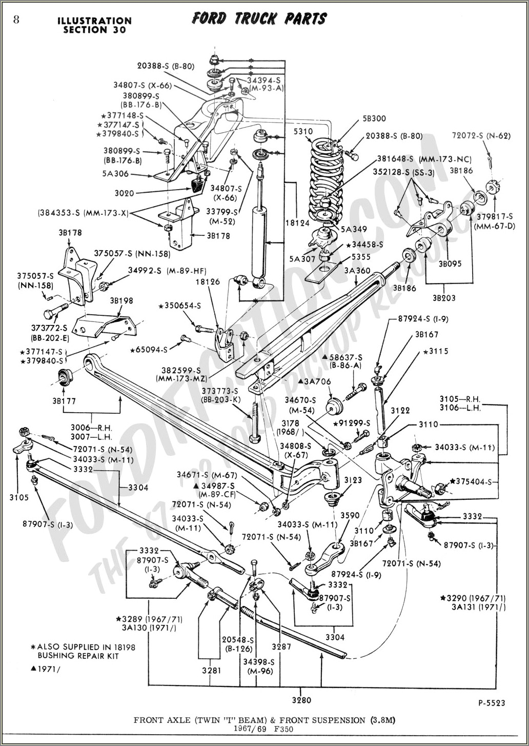 2002 Ford F150 Front Suspension Diagram