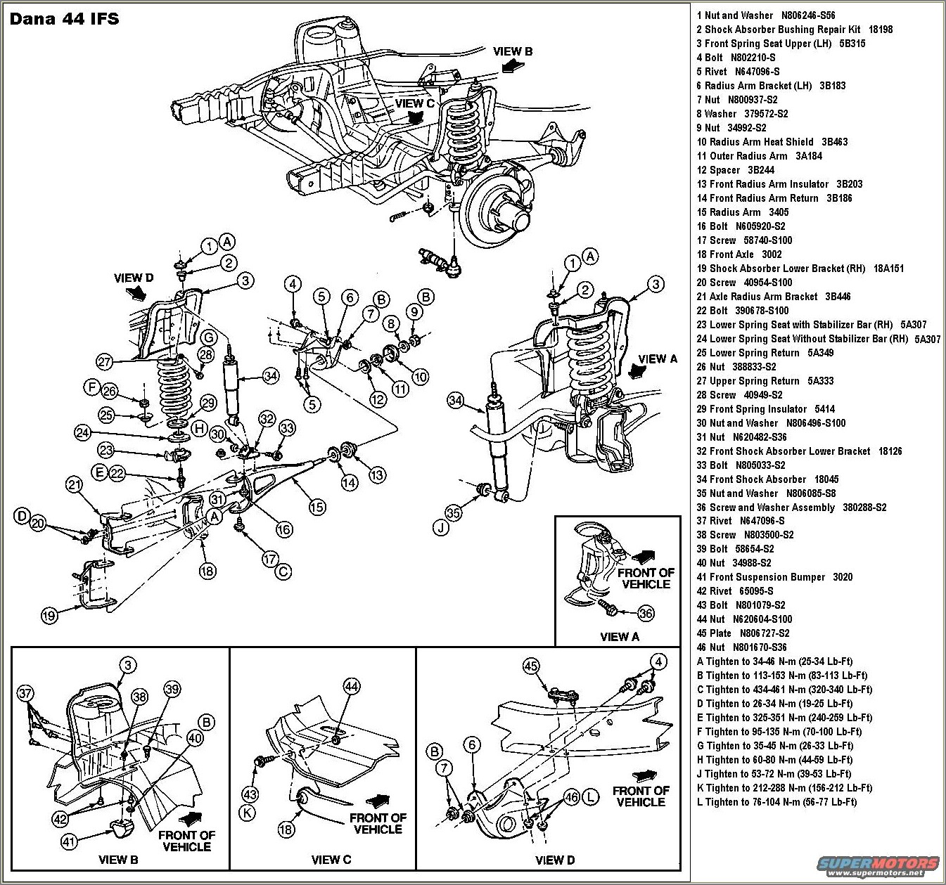 2003 Ford F150 Front Suspension Diagram