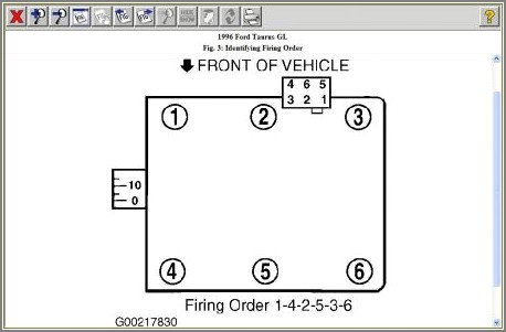 2005 Ford Taurus Spark Plug Wire Diagram