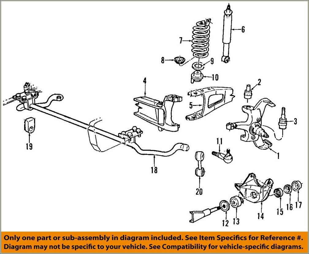 2006 Ford F150 Front Suspension Diagram