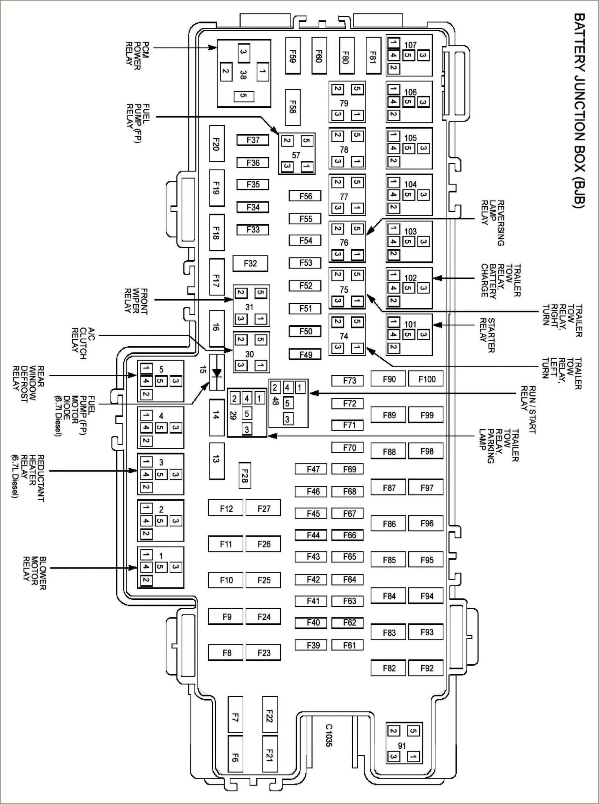 2011 Ford F150 Fuse Diagram Under Hood