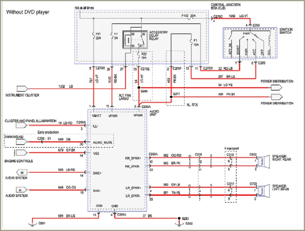 2012 Ford F250 Stereo Wiring Diagram