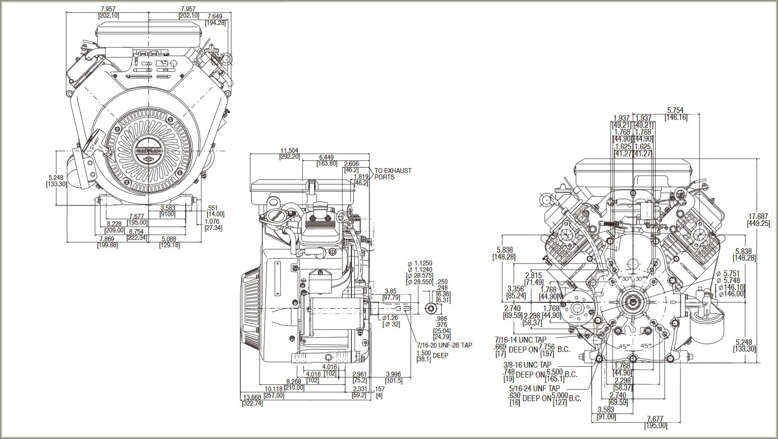 23 Hp Vanguard Carburetor Diagram