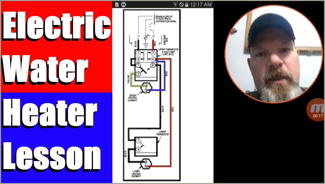 240v Electric Water Heater Wiring Diagram