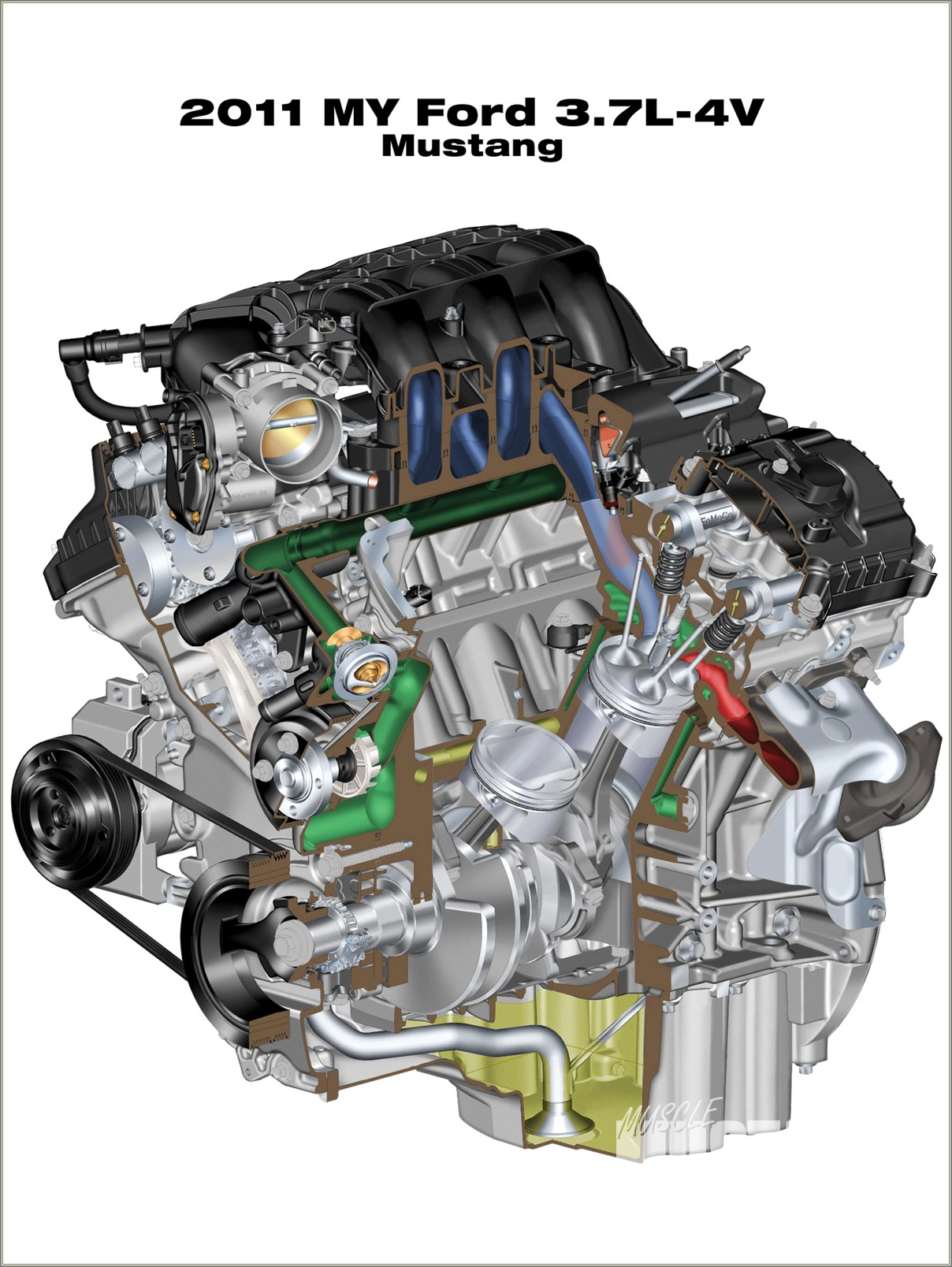 38 V6 Engine Diagram