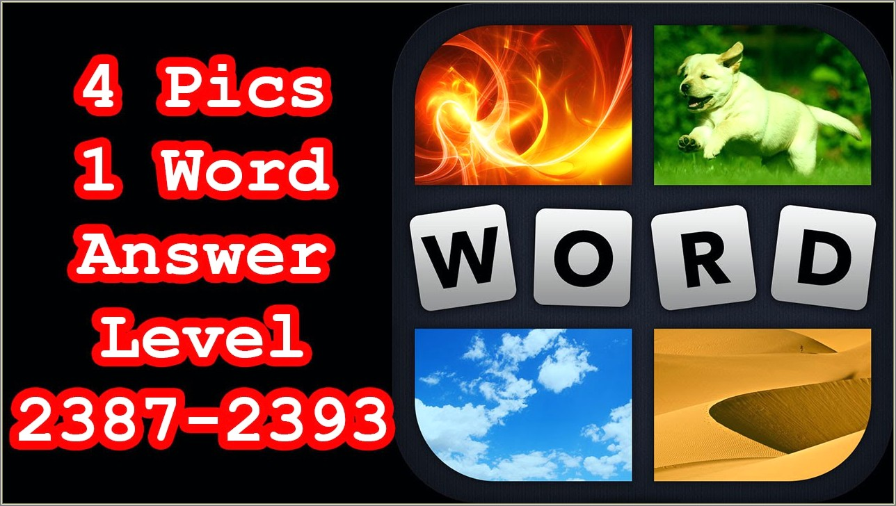 4 Pics 1 Word 6 Letters Water