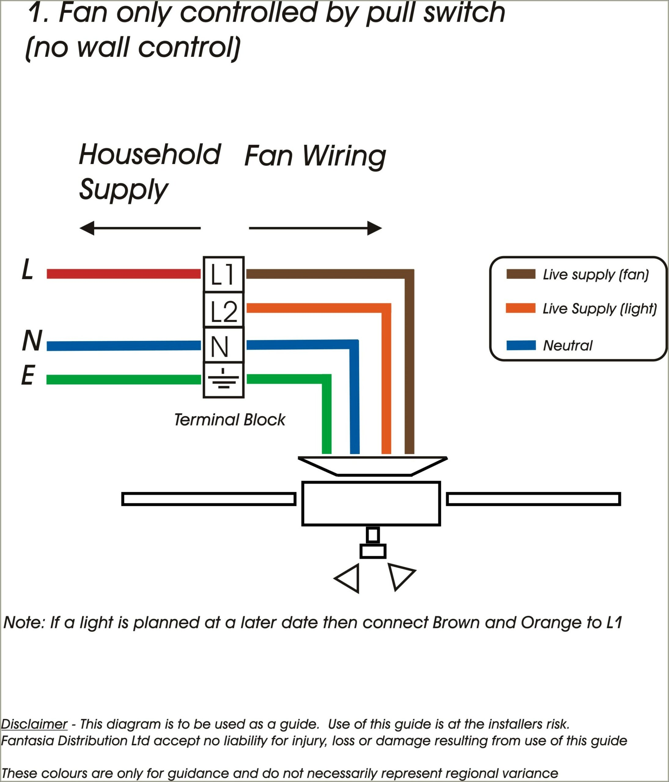 4 Wire Fan Switch Diagram