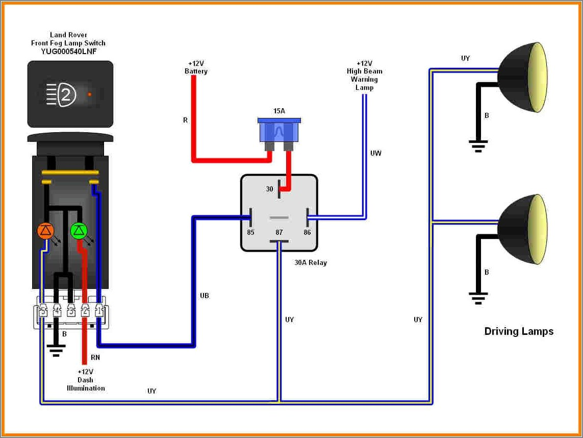 5 Pin Relay Wiring Diagram For Lights