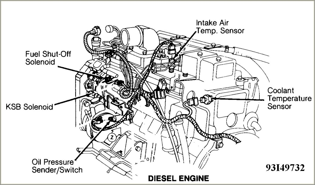 59 Cummins Diesel Engine Diagram