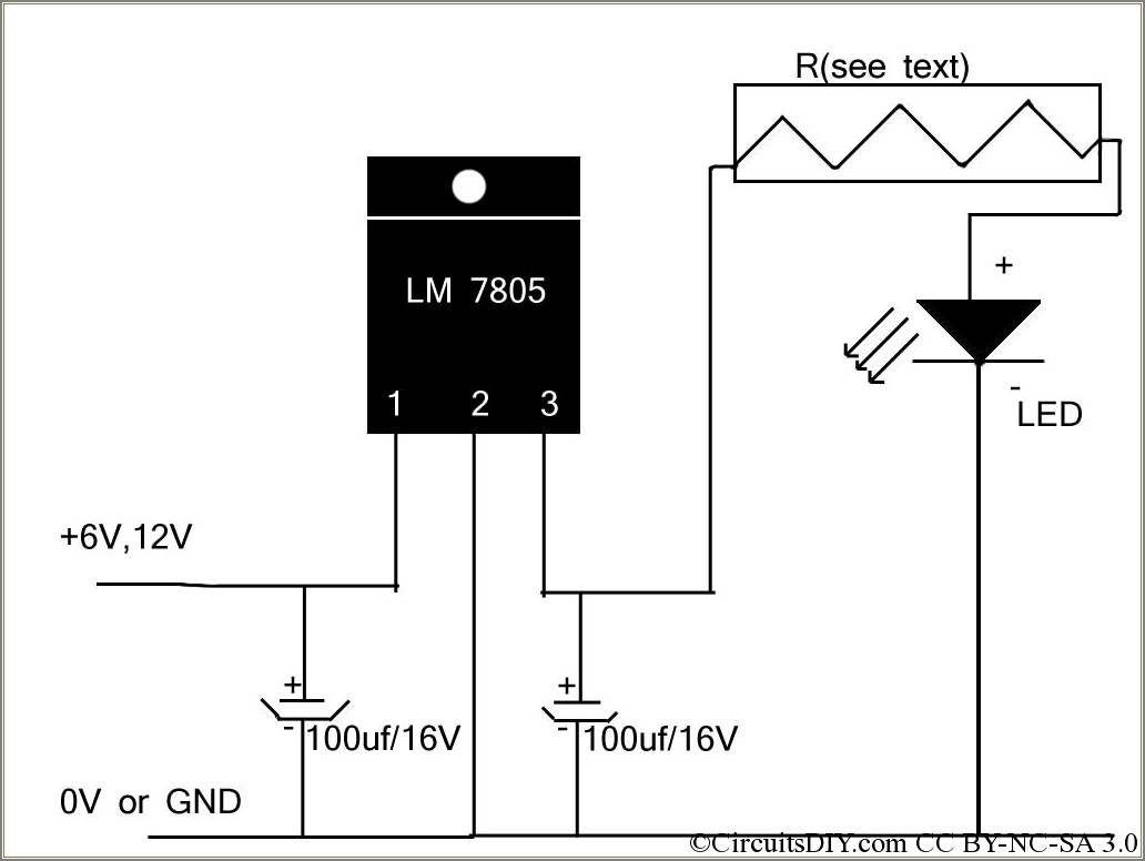 5w Led Driver Circuit Diagram