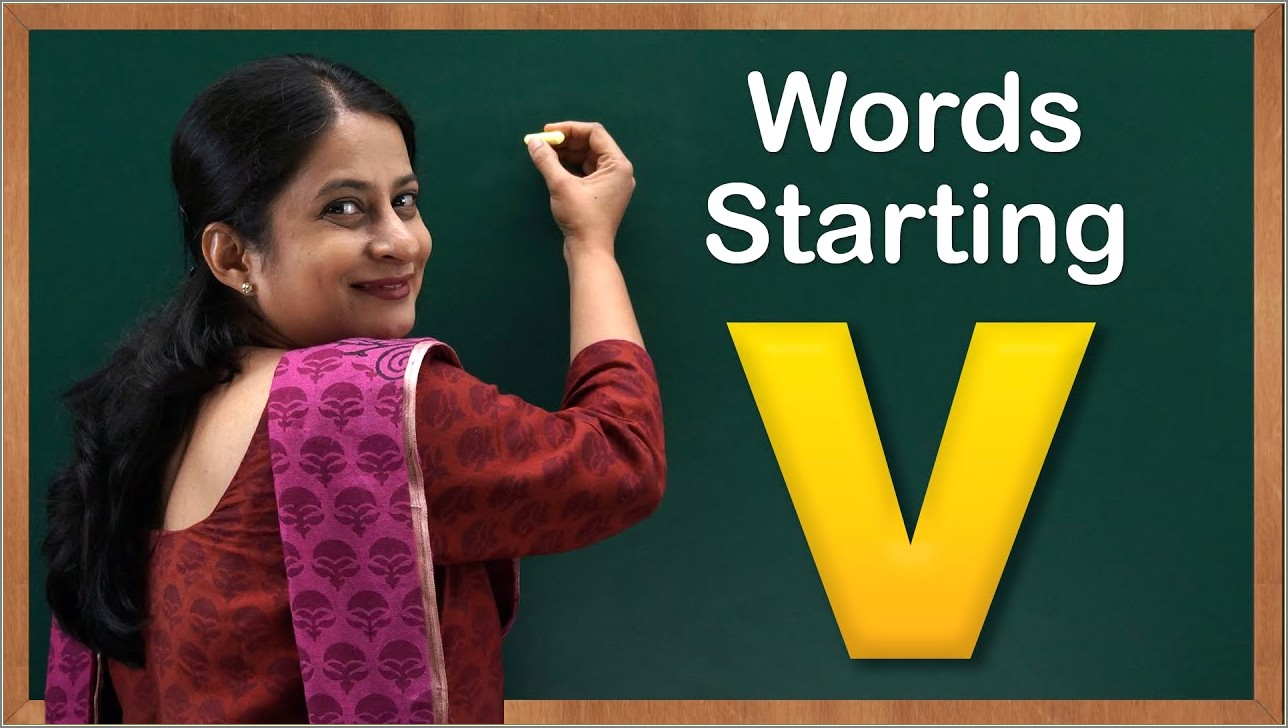 7 Letter Words Starting With Ver