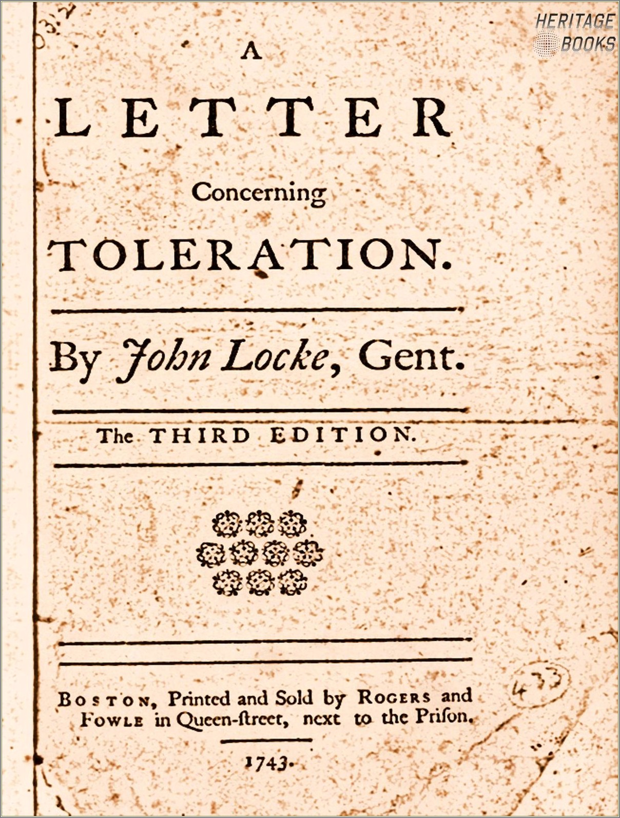 A Letter Concerning Toleration Summary