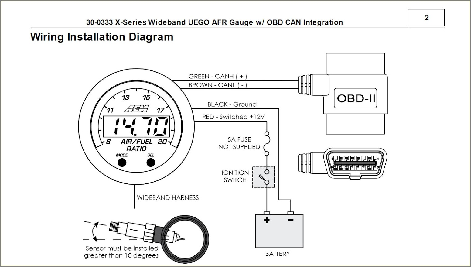 Aem Wideband 35 8460 Wiring Diagram