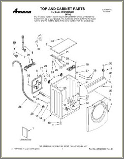 Amana Washer Wiring Diagram