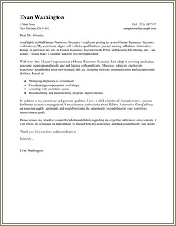 Army Recruiting School Welcome Letter