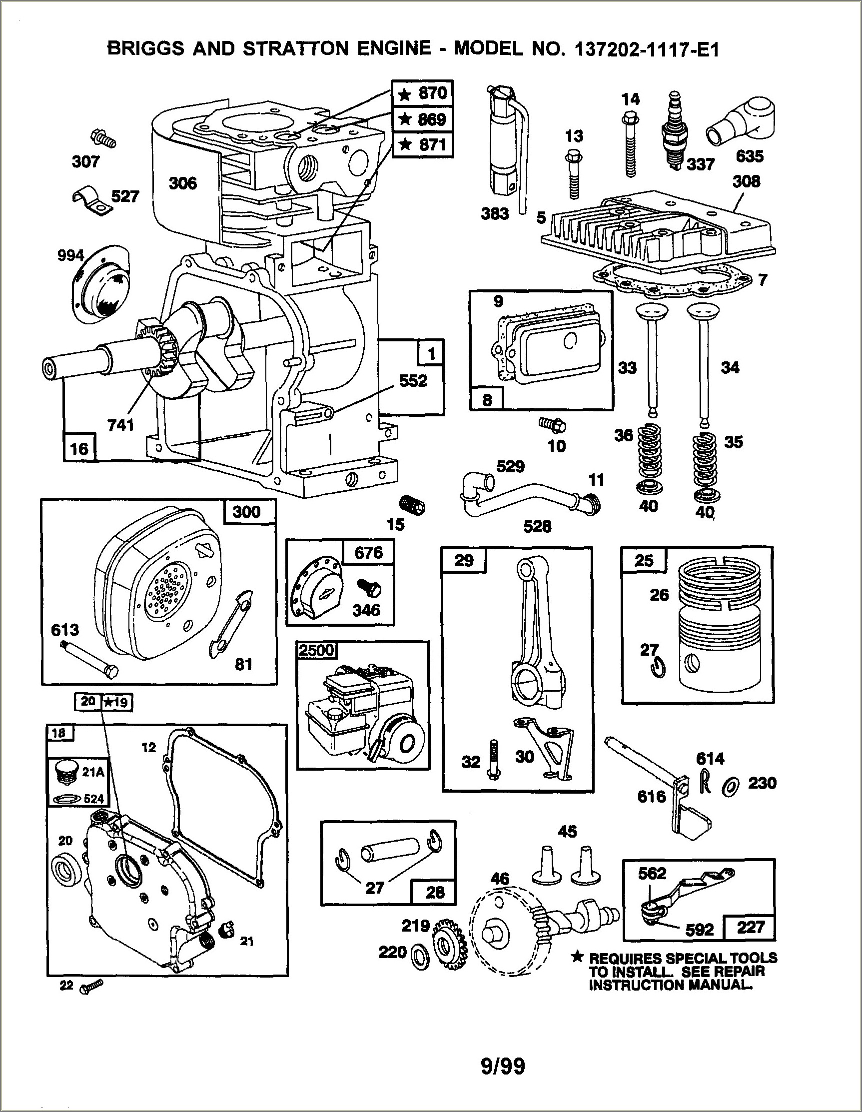 Briggs And Stratton 8 Hp Engine Diagram